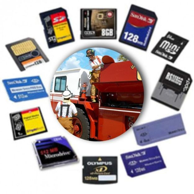 Recovery programs for memory card