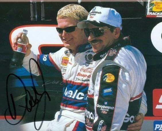 Dale Earnhardt Jr and Sr