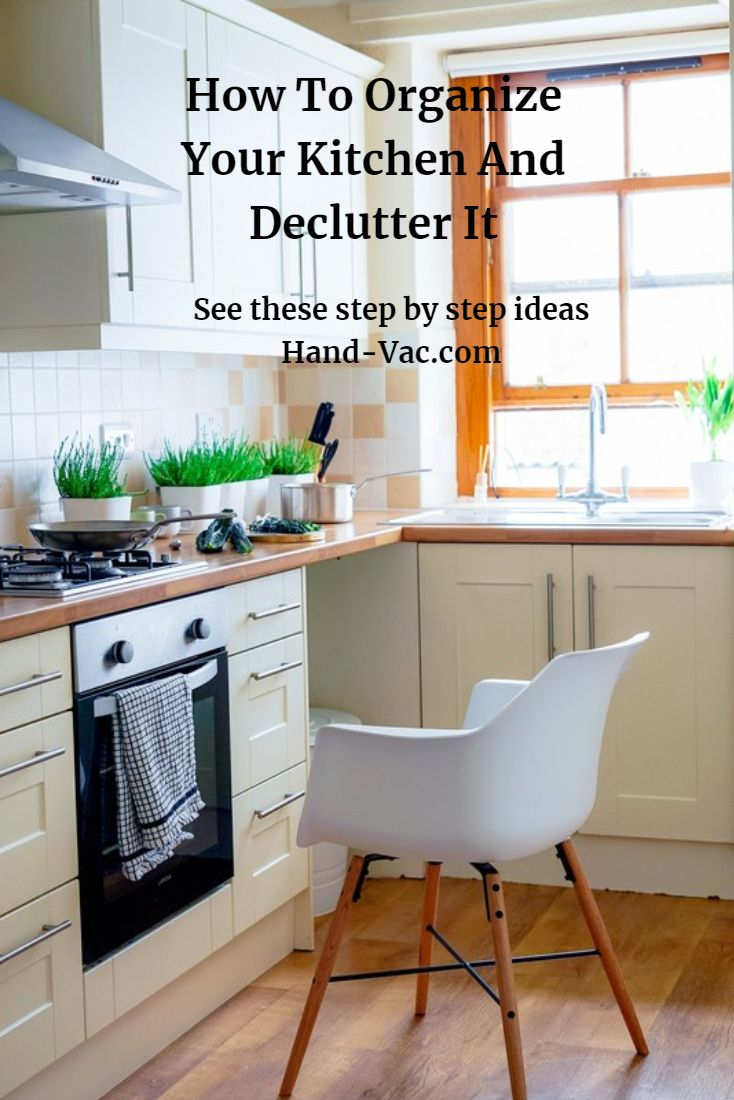 See These Step By Ideas To Organize Your Kitchen