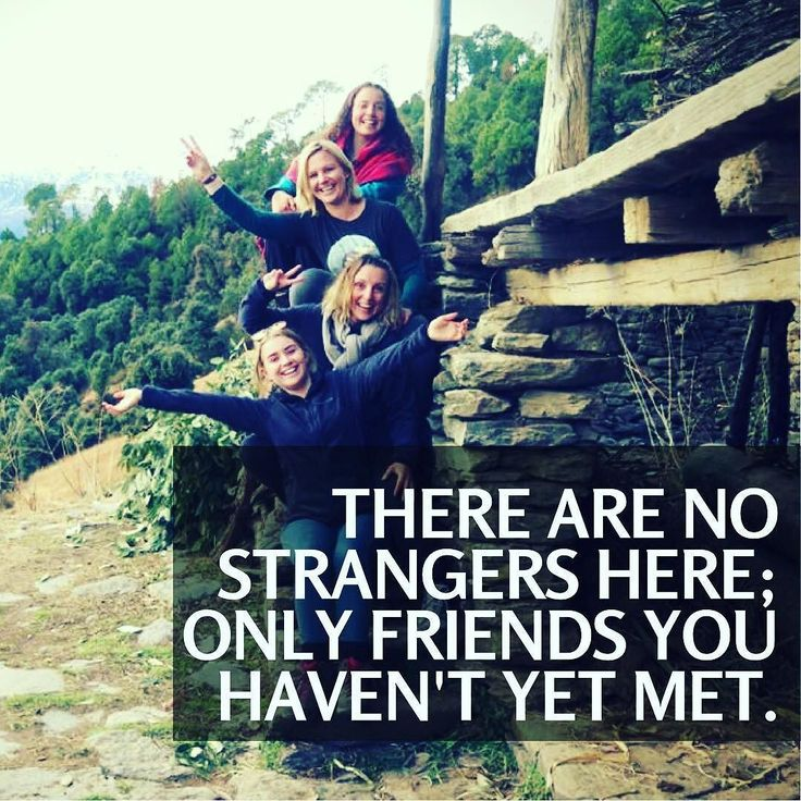 There are no strangers here; Only friends you haven't yet met. #Travel to meet your friends around the world. Book your trip for #Summer Volunteer Program in #India now to travel different cities around the country and meet new #friends. . . #VIQuote #quoteoftheday #mondayquote #travel #travelquotes #bff #friends