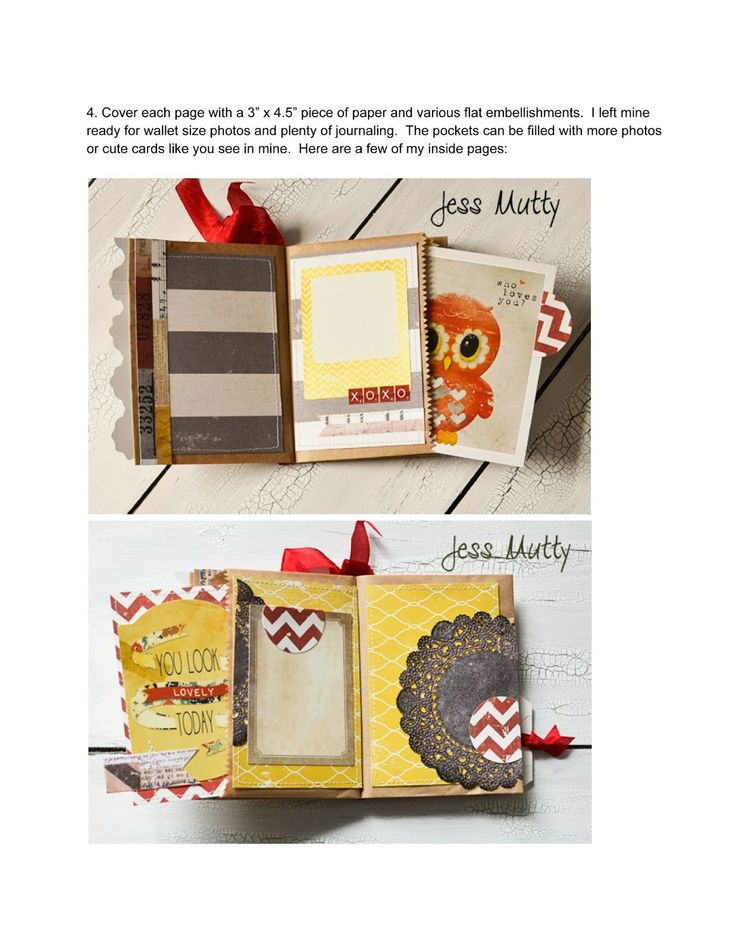 The Curtsey Boutique: DIY Mini Paper Bag Album Tutorial with Jess Mutty