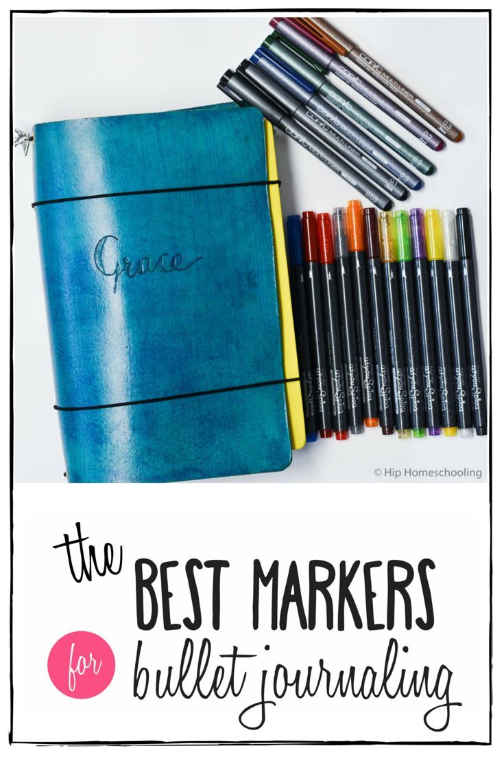 The best markers for bullet journaling | Copic Markers