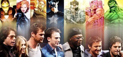 Vídeo na internet mostra os principais erros de gravação do filme que reúne os principais super heróis da Marvel: Os Vingadores!