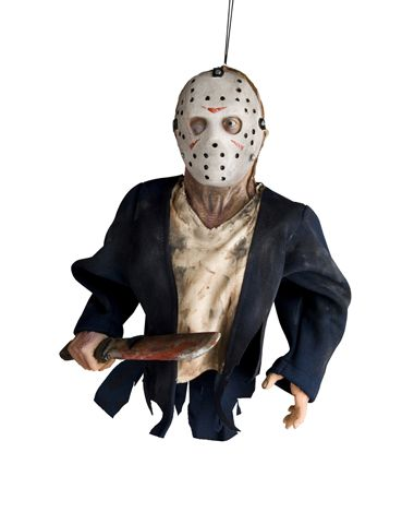 spirit halloween jason voorhees hanging puppet prop multicoloured one size fits most - Spirit Halloween Decorations