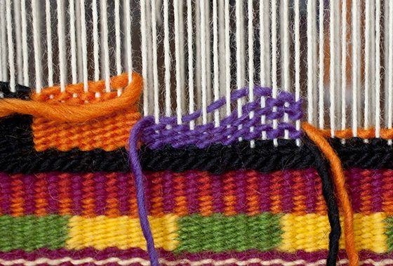 Intro to Tapestry Class: Slit Tapestry Technique   Mirrix Tapestry & Bead Looms