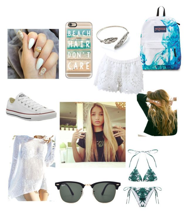 """Cool for the summer"" by masterofdolls on Polyvore featuring interior, interiors, interior design, home, home decor, interior decorating, Casetify, Lulu DK, Ray-Ban and Converse"
