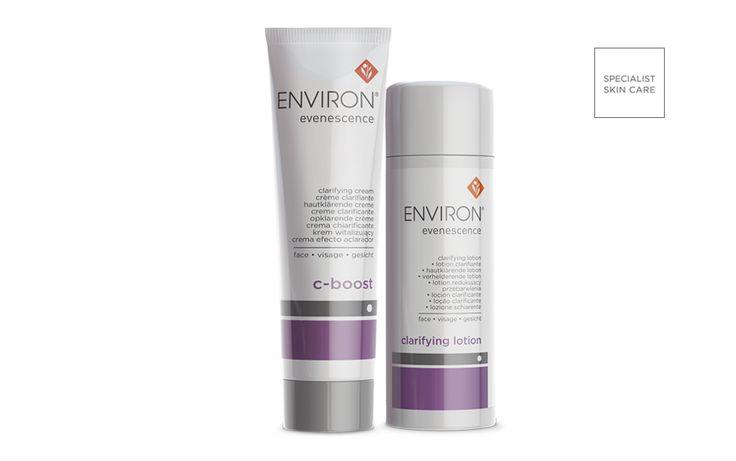 Environ Evenescence Skin Care Range l Environ Global