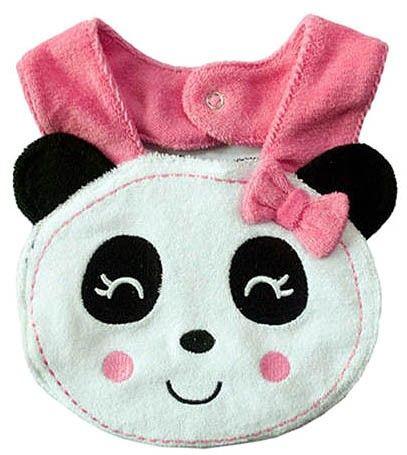 Panda Bib    Condition  New      Panda Feeding Bib  Contact Letima House Baby Shop : Text & Whatsapp: +62-877-8080-6878  Blackberry Pin : BBM: 512B5D2E / 74B97998