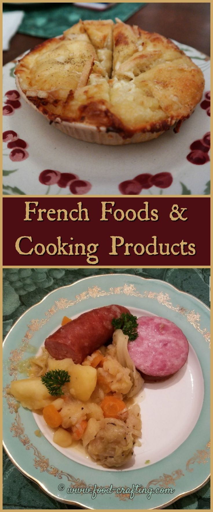 Gift your favorite #chef or yourself with unique #gourmet gifts! A collection of must-have #French food and cooking products for your kitchen pantry. Bon app!