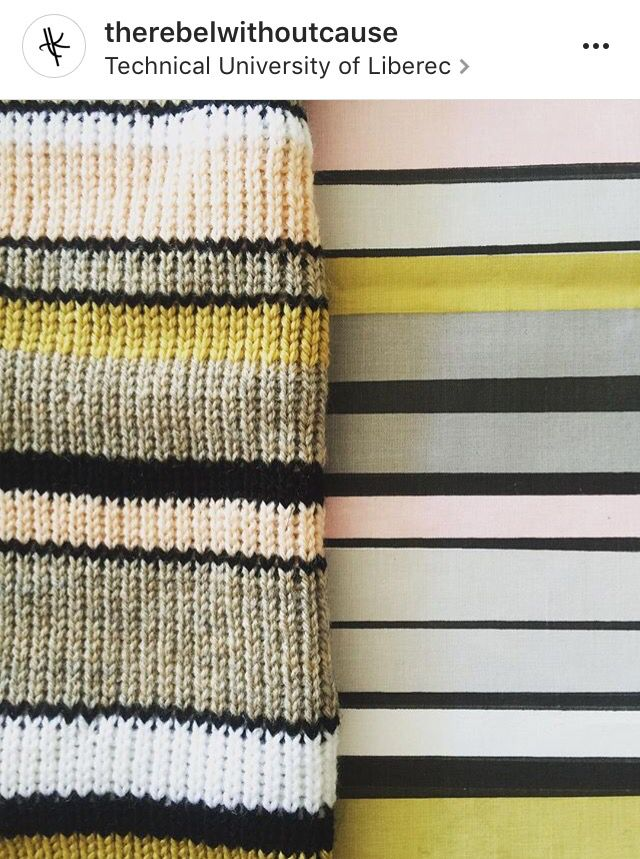 Print On The Textile. Weaving. Design. Stripes. Blonde.