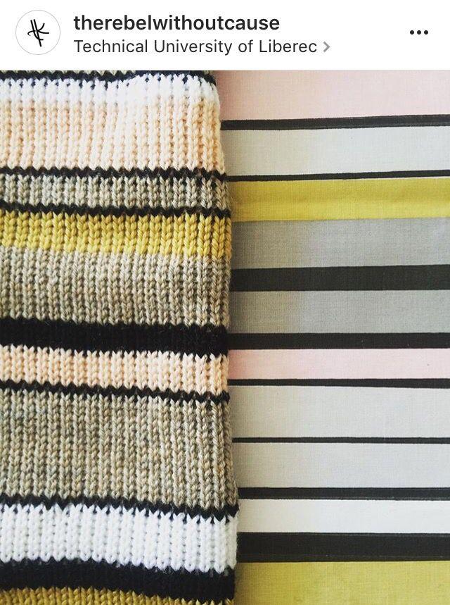 Print On The Textile. Weaving. Design. Stripes. Blonde.