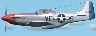 North American P-51D Mustang 44-72181 coded VF-S 'Sunny VIII' of the 366th Fighter Squadron, 4th Fighter Group, crashed on Castleshaw Moor 29th May 1945 while being ferried from Debden to Speke 1st Lieutenant Harold H. Fredericks Pilot Killed
