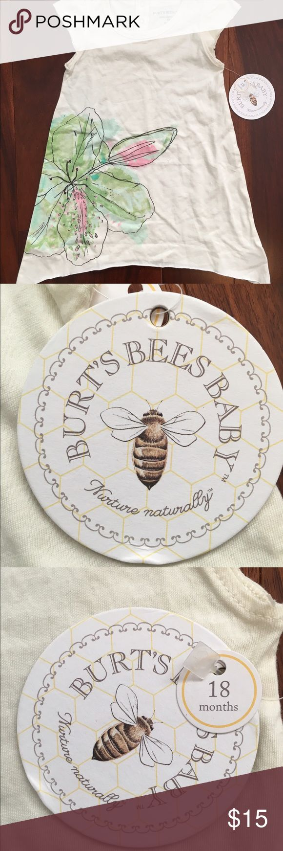 Burts Bees Toddler Dress Brand new, perfect for summer, thin and comfortable Burt's Bees Baby Dresses Casual