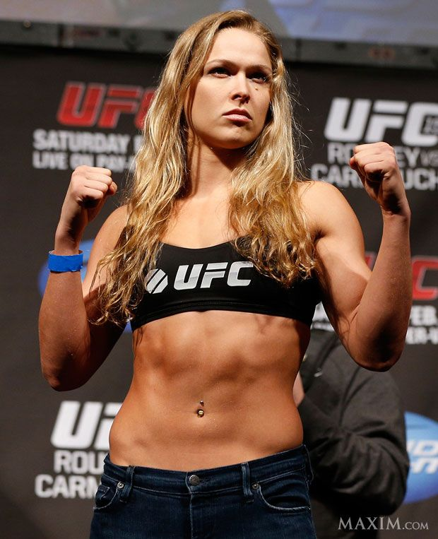 Ronda Rousey. UFC champ and MMA athlete. Quite simply the baddest bitch on the planet.