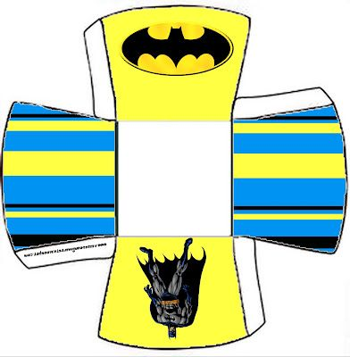 Batman Free Printable Boxes.