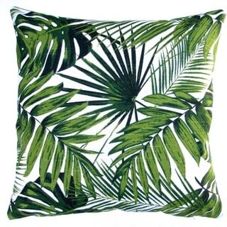 Shop for 18-inch Indoor/Outdoor Tropical Throw Pillow Cover. Free Shipping on orders over $45 at Overstock.com - Your Online Home Decor Outlet Store! Get 5% in rewards with Club O! - 17361769