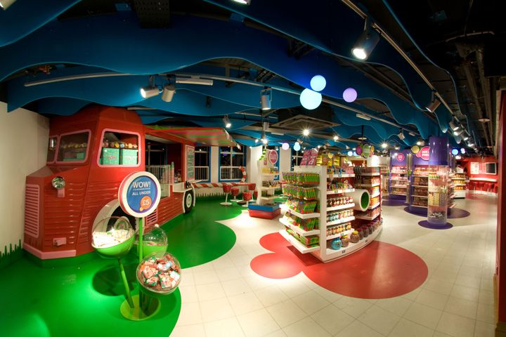 TOY STORES! Retail Hamleys flagship store by Chute Gerdeman, London