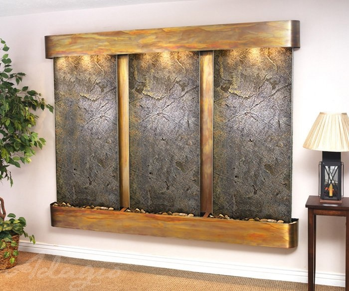 12 best the summit falls wall mounted water feature images on pinterest indoor fountain. Black Bedroom Furniture Sets. Home Design Ideas