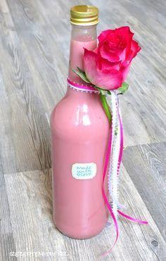 Rezepte mit Herz ♥: Erdbeer - Sahne - Likör mit Vanille