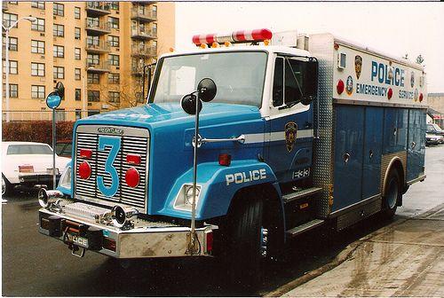 NYPD ESU Police Truck 3 Bronx NY 1993