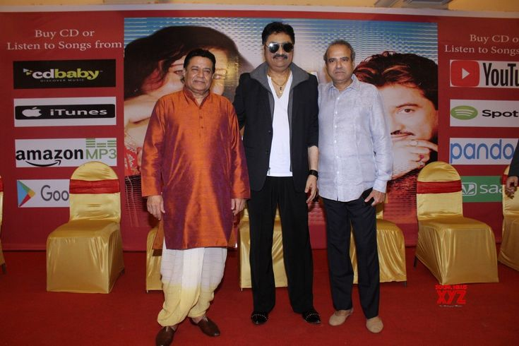"Mumbai: Album launch ""Tum Bin""  Anup Jalota, Kumar Sanu and Suresh Wadkar - Social News XYZ"