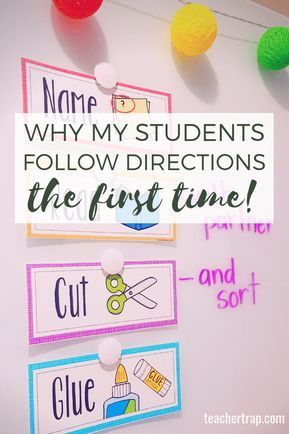 5 Quick Tricks for Getting Students to Follow Directions