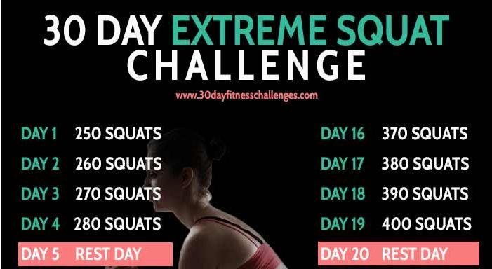 les 75 meilleures images du tableau 30 day squat challenge sur pinterest exercices d fis de. Black Bedroom Furniture Sets. Home Design Ideas