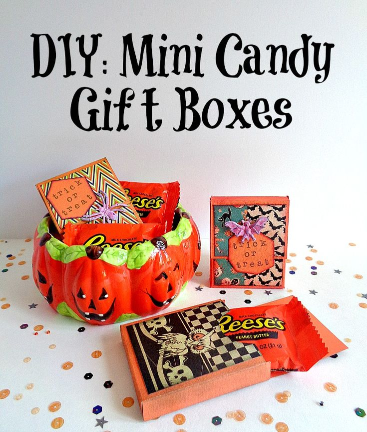 If you want to cheer someone up this Halloween season or just want to spread the Halloween love, then you need to make these Mini Candy Gift Boxes! These Mini Candy Gift Boxes are so easy to make and are perfect to give away to friends or co-workers. To create these mini boxes I used the Xyron Tape Runner, ColorBox® Ink Premium Dye Mini Inkpads from Clearsnap Inc., and Halloween Rings. Click on the link to get all the details!