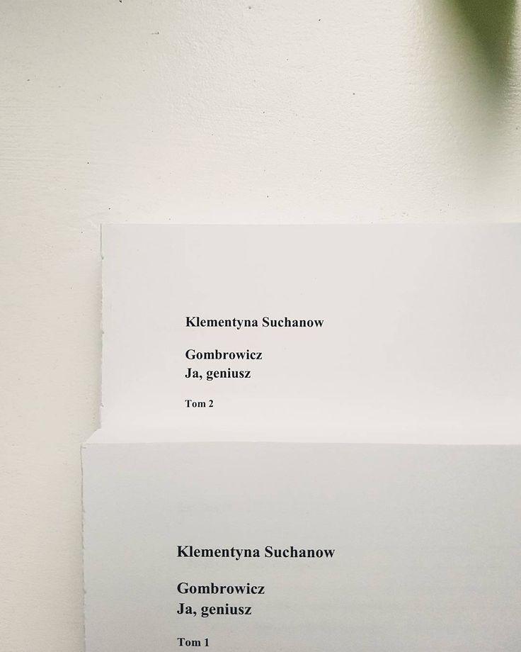 On geniusz - pierwsza biografia Gombro  #witoldgombrowicz #gombrowicz #gombro #czarne #czytamy #czytambolubie #czytam #terazczytam #książka #książki #igerspoland #vzcopoland #books #book #read #reading #reader #instagood #czytanie #polskaczyta #instagramczyta #czwartek