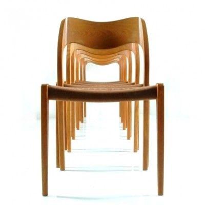 Located using retrostart.com > 71 Dinner Chair by Niels Otto Møller for J L Møller