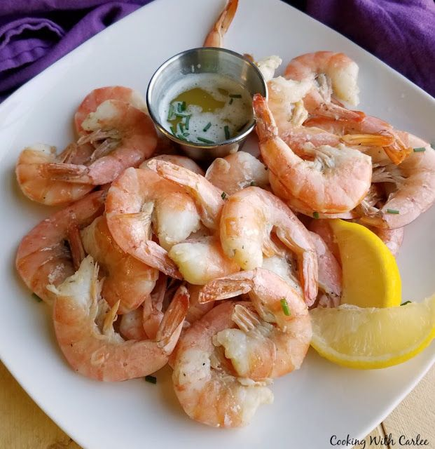 Cooking With Carlee: Simple Key Lime Roasted Shrimp #FoodBloggers4FL