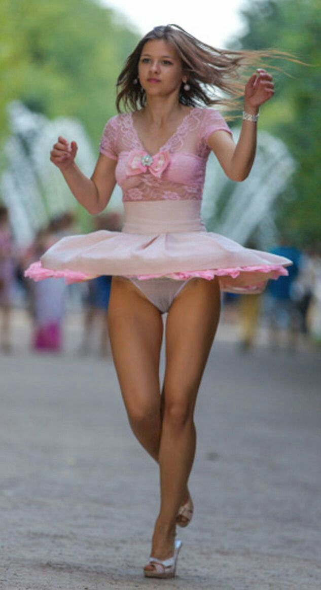 Windy skirt pics