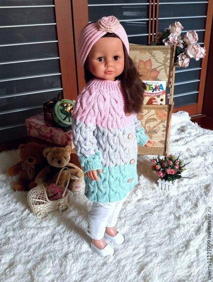 Купить или заказать Кардиган-пальто 'LILU' в интернет-магазине на Ярмарке Мастеров. Кардиган-пальто для девочки из полушерстянной пряжи детской серии. Нежнее нежного!!! Мягкие, приятные цвета - нежная мята в сочетании с розово-сиреневым цветом - модно и актуально! Кардиган-пальто практически бесшовный, небольшие швы имеюстся только в области подмышечных впаден, что также актуально для детской одежды. Такая вещица прослужит вашей малышке не один сезон - сначала это полноценное пальто, ...