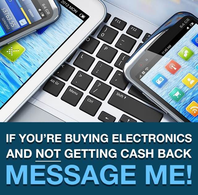 Get #cashback on electronics. Check out Here. Sign up NOW for FREE and get $10 !