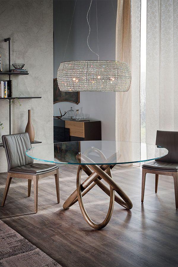 Carioca Round Ist Ein Moderner Und Verspielter Tisch Von Cattelan