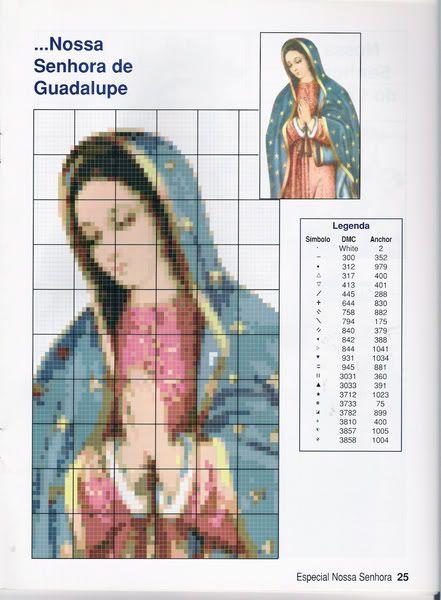 Punto Cruz Virgen Guadalupe Picture Samosa Photobucket