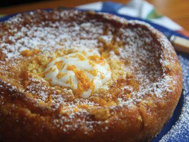 orange almond flourless cake - Annabelle White