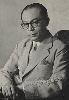 Mohammad Hatta was the vice president of the first Indonesian president. He fought for the independence of Indonesia from the dutch.
