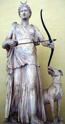 Artemis is considered one of the most popular of all goddesses because she possesses characteristics and powers of many other goddesses.  She was known as a Mother Goddess who helped women and children, an Earth Goddess who protected nature and brought rain to make the earth fertile, and the Goddess of Hunting and the Moon.