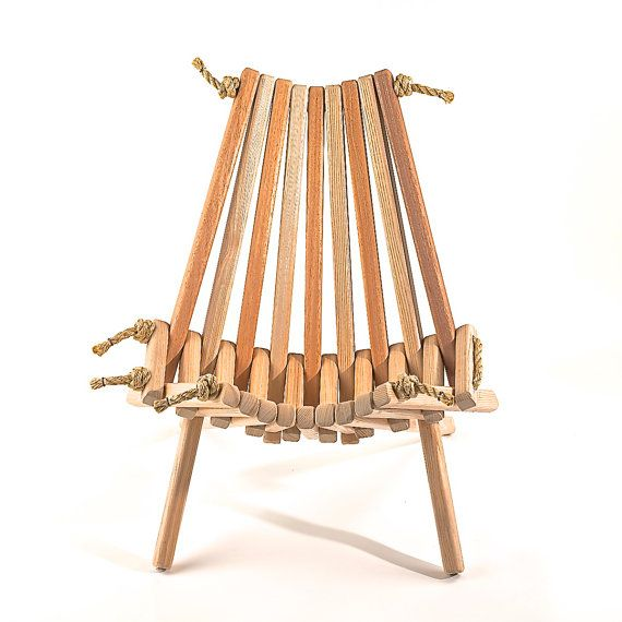 Alternating Slats Of (sustainably Harvested, FSC Certified) Ash And  Mahogany Give This · Striped ChairOutdoor SpacesOutdoor LivingFolding ... Ideas