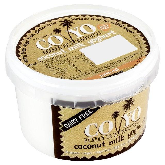 CO YO Coconut Milk Yoghurt Natural at Ocado - fab for #dairyfree #glutenfree   guests!