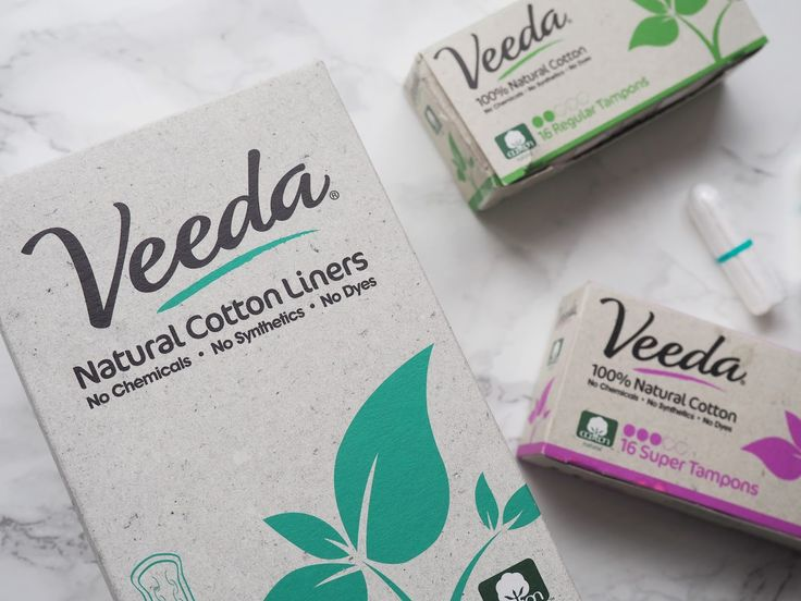 Veeda 100% Natural Cotton Feminine Care + Giveaway