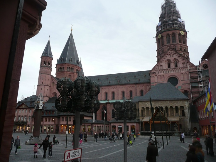 Stunning Cathedral in Mainz
