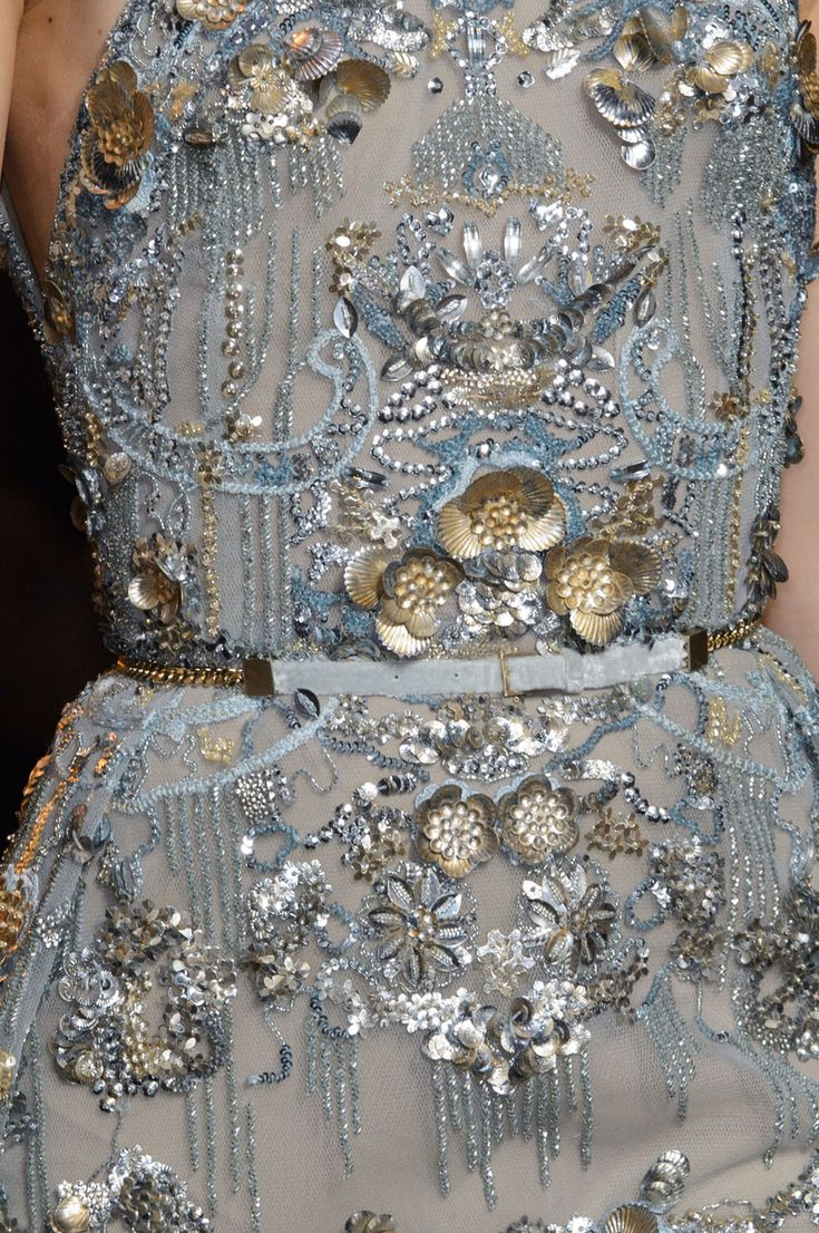 skaodi: Details from Elie Saab Haute Couture Fall/Winter 2015.