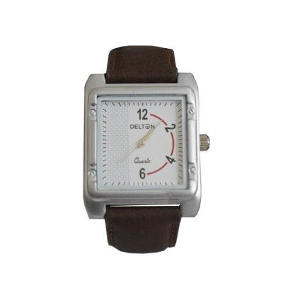 Menjewell Trendy Leather Brown Belt Square Dial (Water Resistance) Watch - For Men  Rs. 333/- watch for mens,luxury watches online,watches for men brands top 10,wrist watch online,watches for men on sale,online watches for mens,luxury watches for men,watches for boys,mes jewellery , mens fashion