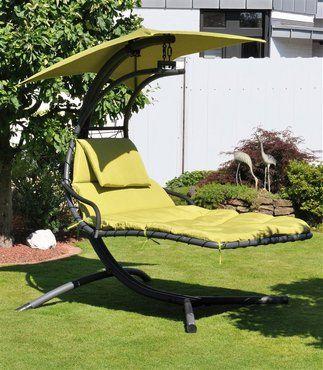 So lässts sich relaxen: Schwingliege für 2 Personen