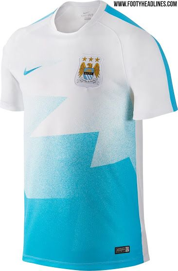 The new Manchester City 2016 Pre-Match and Training Shirts boasts classic  and clean designs, made by Nike and set to be used by the club from January