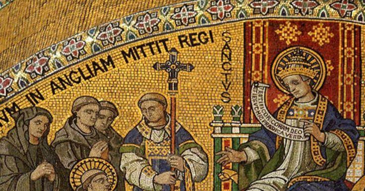 Santo de hoy - Agustín de Canterbury , Santo Obispo (+604 dC) - 27/05    Martirologio Romano: San Agustín, obispo de Canterbury, en Inglaterra, el cual, habiendo sido enviado junto con otros monjes por el papa san Gregorio I Magno para predicar la palabra de Dios a los anglos, fue acogido de buen grado por el rey Etelberto de Kent, e imitando la vida apostólica de la primitiva Iglesia, convirtió al mismo rey y a muchos otros a la fe cristiana y estableció algunas sedes episcopales en esta…
