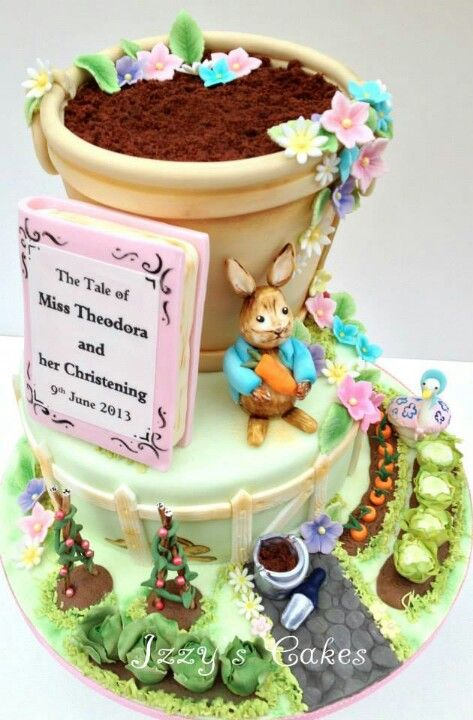 The most amazing Peter Rabbit cake ever!