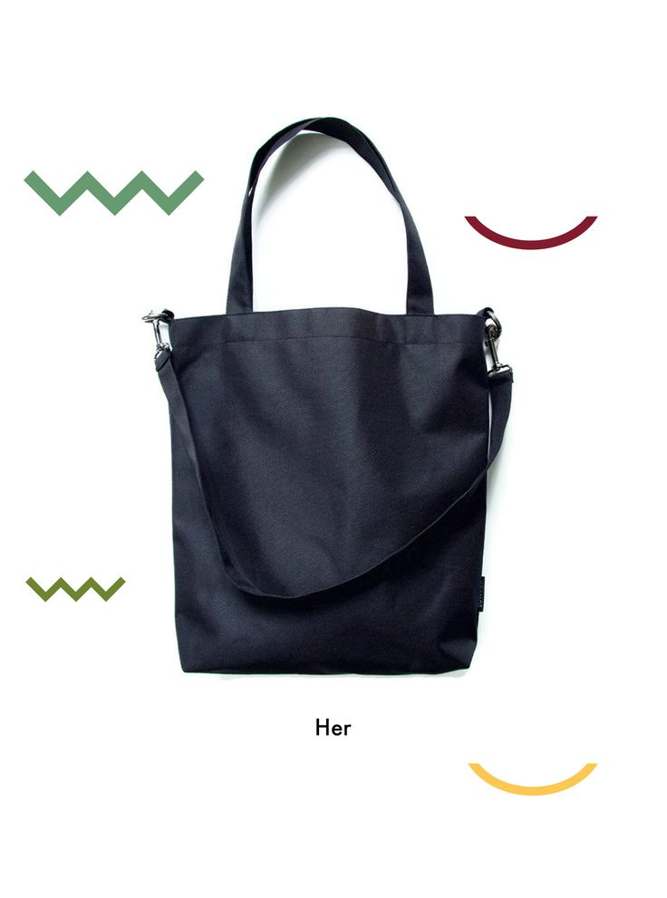 Everyday bag Waterproof tote bag Vegan bag Handmade bags